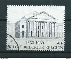 1980 Belgium 50F Theatre Brussel Used/gebruikt/oblitere - Gebruikt