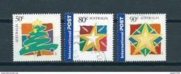 2001/03 Australia Christmas,kerst,noël,weihnachten Used/gebruikt/oblitere - 2000-09 Elizabeth II
