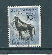 1954 South-Africa 10'- Antilope,animals Used/gebruikt/oblitere - Gebruikt