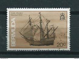 1990 Bermuda San Pedro,ship,boat Used/gebruikt/oblitere - Bermuda