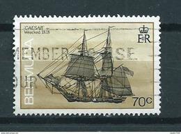 1988 Bermuda Caesar,ship,boat Used/gebruikt/oblitere - Bermudes