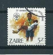 1982 Zaire 5z. Scouting Used/gebruikt/oblitere - Zaïre