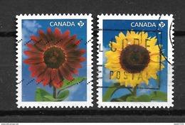 2011 Canada Complete Set Sunflowers Used/gebruikt/oblitere - Gebruikt