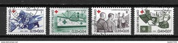 1964 Finland Complete Set Red Cross,rode Kruis,rotes Kreuz Used/gebruikt/oblitere - Usados