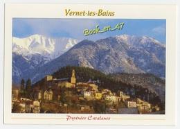 {58183} 66 Pyrénées Orientales Vernet Les Bains , Le Vieux Vernet Niché Sur Les Flancs Du Canigou - France
