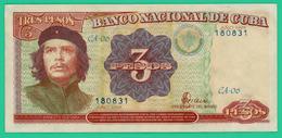 3 Peso - Cuba - N°CA06- 180831 - 1995 - Sup - - Cuba
