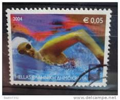 2004 Greece Olympic Estafette 0,05 Euro Used/gebruikt - Grèce