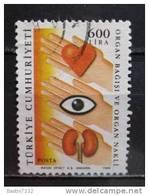 1988 Turkey 600 Lira,health Used/gebruikt - 1921-... Republiek