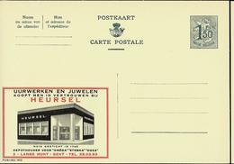 Publibel Neuve N° 1612  ( HEURSEL: Montres Omèga -  Gent ) - Stamped Stationery