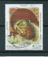 2002 Italy Culture,Cimabue 2,58 EURO Used/gebruikt/oblitere - 1946-.. République