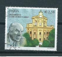 2003 Italy Guido Carli 2,58 EURO Used/gebruikt/oblitere - 1946-.. Republiek