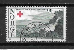 1965 Norway Red Cross,rode Kruis,rotes Kreuz Used/gebruikt/oblitere - Gebruikt