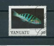1987 Vanuatu Fish,poisson,fische Used/gebruikt/oblitere - Vanuatu (1980-...)
