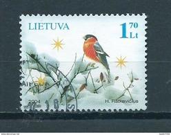 2004 Litouwen Birds,oiseaux,vögel Used/gebruikt/oblitere - Lituanie