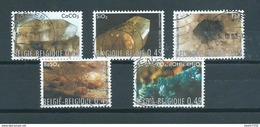 2003 Belgium Complete Set Mineralen Used/gebruikt/oblitere - Belgique