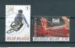 2008 Belgium Complete Set Olympic Games Peking Used/gebruikt/oblitere - Belgique