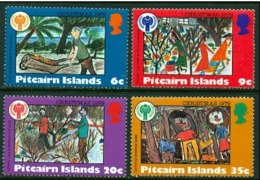 """-Pitcairn Islands-1979-""""Year Of The Child""""-MNH(**) - Pitcairn Islands"""