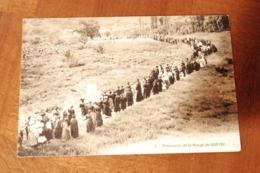 CPA 48 PROCESSION DE LA Vierge De QUEZAC - Frankreich