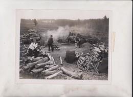 ASHDOWN HERMIT CHARCOAL   MINERS MINING MINES MINA 21*16CM Fonds Victor FORBIN 1864-1947 - Profesiones