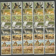5x Rwanda - MNH - Animals - Wild Animals - Other