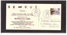 238   -    RAVENNA  25.11.2006    /     GIORNATA DELLA FILATELIA - Esposizioni Filateliche