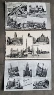 Lot 3x Postkaart Postkaarten Groeten Uit Antwerpen Souvenir D' Anvers - Antwerpen