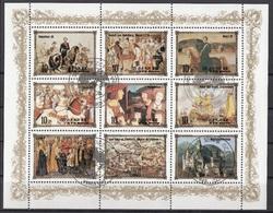 DPR Korea 1984 Sc. 2440a-i Historic European Royalty Scenes Ritratti Monarchi Europei Francesco I, Luigi XVIII Sheet - Arte