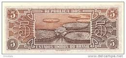 BRAZIL P. 166b 5 C 1962 UNC - Brésil