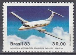 BRAZIL 1992,unused,planes - Avions
