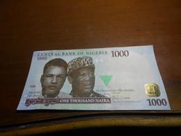 NIGERIA   2016   -  1000  NAIRA  BILLET - Nigeria