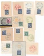 Ceskoslovensko Sammlung Mit 28 Stempeln - Tschechoslowakei/CSSR