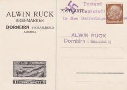 Deutsches Reich Propaganda Postkarte Frabkstadt In Dem Befreiungstagen 1939 - Gebraucht