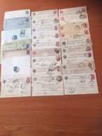 +++ Sammlung 25 Covers & Cards Russia From 1884 +++ - Briefmarken