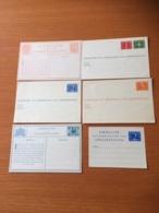 +++ Sammlung 6 Address Cards Netherlands From 1932  +++ - Briefmarken