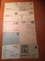 +++ Sammlung 10 Postcards Allierter Besetzung  +++ - Briefmarken
