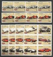 4x GAMBIA - MNH - Transport - Cars - Ferrari - Sport - Cars