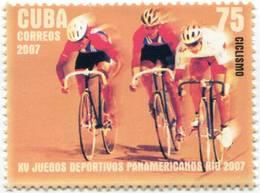 Lote CU4721, Cuba, 2007, Juegos Panamericanos, Rio, Deportes, Ciclismo, Cycling, Sport, Bicycle - Cuba