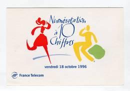C.P °_ France.Telecom- Numérotation à 10 Chiffres-1996 ° NEUVE - Autres