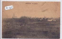 SIOUVILLE- VUE GENERALE - France