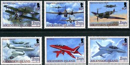 Ascension 2008 90 Years Royal Air Force RAF 90 Ans - Avions