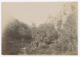 E255 Photographie Ancienne Pontivy 1895 Les Gorges De Poulancre Morbihan Bretagne - Luoghi