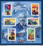 Bloc N°85 De 2005 Héros De Jules Verne Neuf** - Mint/Hinged