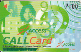 PHILIPPINES(GPT) - Eastern Access, Eastern Telecom Telecard, CN : 332PETA(normal 0), Tirage 23000, Used - Philippines