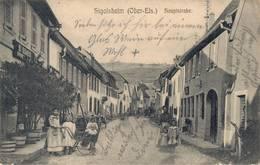 Sigolsheim Hauptstr. Kaysersberg Vignoble Département Haut-Rhin, Region Grand Est,Colmar-Ribeauvillé 1915 - Colmar