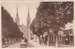 Luxembourg, Diekirch, L'esplanade Et L'Eglise (pk68283) - Diekirch