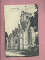 CPA - Côtes Du Nord -  Lamballe - Eglise Notre Dame -(Vue De La Rue Notre Dame ) - Lamballe