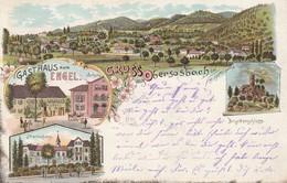 Gruss Aus Obersasbach Bei Achern - Gasthaus Zum Engel - Allemagne