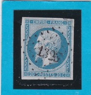 N° 14A   PC  1326  FOURNE-en-WEPPES   ( 57 )  NORD  - REF 14615- IND 9 - COTE 55€ - 1853-1860 Napoleon III