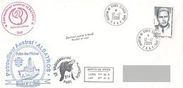TAAF - Patrouilleur Albatros - Ile St Paul. Base Martin De Vivies. Mission N°2/2009. - Brieven En Documenten