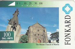 PHILIPPINES(Tamura) - The Malate Church In Manila, Used - Philippines